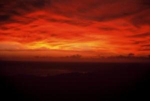 tramonto esotico